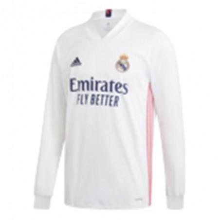 Camiseta Adidas REAL H JSY LS FQ7473 Blanco