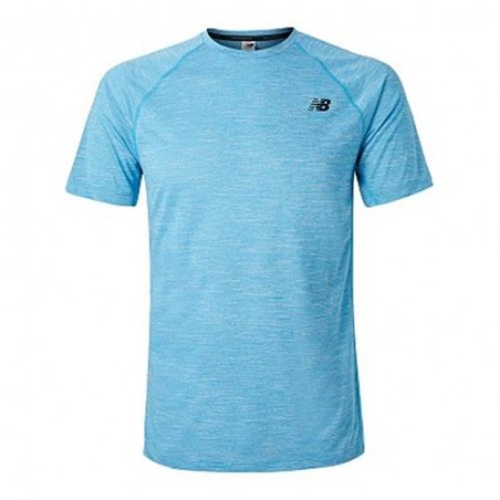 Camiseta NEW BALANCE TENACITY MT81095 CAD Azul